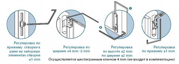 Как регулировать окна пвх видео — img 2